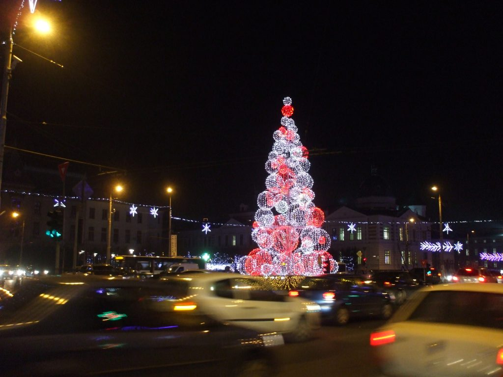 Bucharest Christmas Lights 2011
