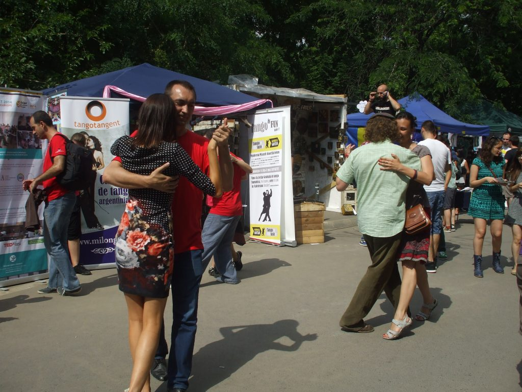 Street Tango in Bucharest at Street Delivery 2013