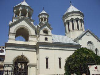 The Armenian Church in Bucharest