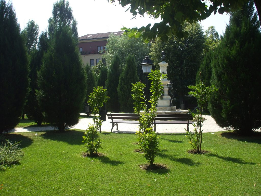 LUIGI CAZZAVILLAN PARK IN BUCHAREST