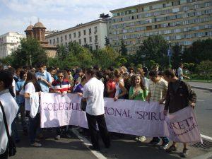 Bucharest High School Pupils Parade 2010 - 2